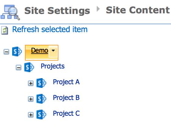 وبپارت Content Search