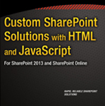 کتاب Custom SharePoint Solutions with HTML and JavaScript